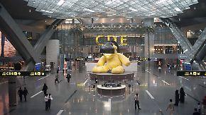 Flughafensteuerwegen Ölpreisverfall in Katar: Doha bittet internationale Flugpassagiere zur Kasse