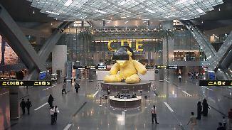 Flughafensteuer wegen Ölpreisverfall: Doha bittet internationale Flugpassagiere zur Kasse