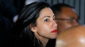 Erneuter Sexskandal: Clinton-Vertraute Abedin trennt sich von Ehemann Weiner