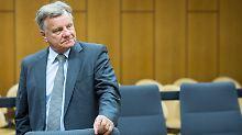 Als Zeuge vor Gericht: Hartmut Mehdorn.