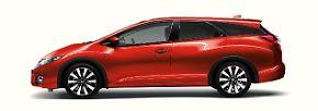 Auch, weil der Honda aktuell ein durchaus ausgereiftes Auto mit schönem Diesel und sogar einer Kombi-Version ist.