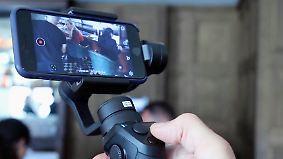 Perfekte Smartphone-Videos: Osmo Mobile macht ruhige und schöne Bilder
