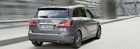 Die Mercedes B-Klasse ist ein solides Auto, als Neuwagen ist sie allerdings ziemlich teuer.