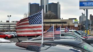 Rückläufige Absatzzahlen: US-Automarkt hat die besten Zeiten hinter sich