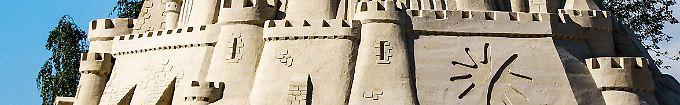 Der Tag: 13:43 Guiness ignoriert höchste Sandburg der Welt in Duisburg