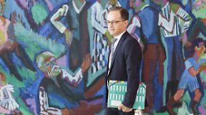 Einmischung in Lohfink-Verfahren: Schäuble: Maas müsste zurücktreten