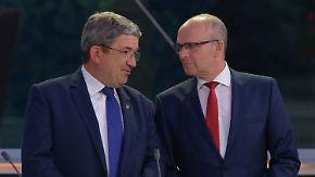 Merkel spricht zum Wahl-Debakel: SPD und CDU lecken ihre Wahl-Wunden