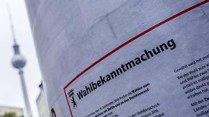 Thema: Abgeordnetenhauswahl Berlin
