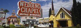 Spontanheirat in Las Vegas: Ist die Witwenrente futsch?