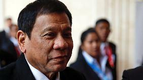"""Rodrigo Duterte, den sie vor seiner Wahl zum Präsidenten auch """"Dirty Harry"""" nannten."""