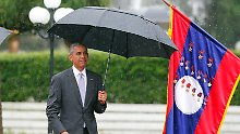"""Trotz """"Hurensohn""""-Beleidigung: Obama trifft philippinischen Präsidenten"""