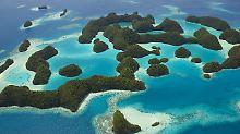 Palau besteht aus Hunderten Inseln - die wenigsten sind jedoch bewohnt.
