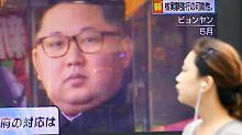 Das südkoreanische Fernsehen berichtete ausführlich über den Atomtest des Nordens im September. Nun sind Sanktionen geplant.