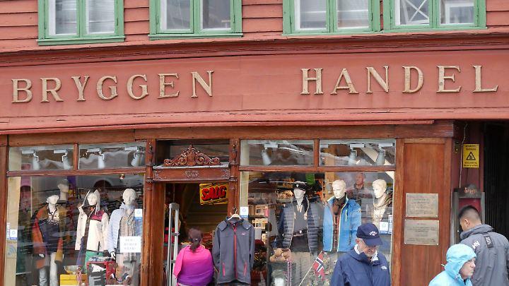 Das historische Hanse-Viertel Bryggen zieht die Besucher an.