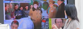 Berlin bestellt Botschafter ein: Nordkoreas Atomtest empört die Welt