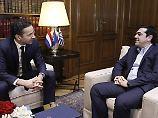 Eurogruppen-Chef Jeroen Dijsselbloem und Griechenlands Regierungschef Alexis Tsipras mögen's locker - auch verbal.