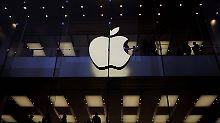 Partystimmung an der Börse: Wann knackt Apple die Billionenmarke?