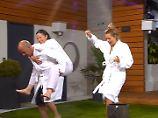 Promi Big Brother - Tag 9: Basler schleppt Isa ab