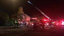 Gotteshaus des Orlando-Attentäters: Unbekannter entfacht Brand in Moschee