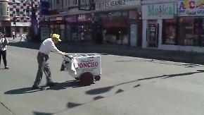 Crowdfunding für den Ruhestand: Zufallsbegegnung macht 89-jährigen Eisverkäufer reich