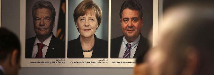 Joachim Gauck tritt als Bundespräsident ab, seine Nachfolge ist ebenso offen wie die Zukunft von Angela Merkel und Sigmar Gabriel.
