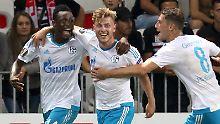 Starker Start in Europa League: FC Schalke belohnt sich gegen Nizza