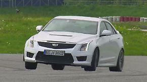 Familienauto mit Spaßfaktor: Der Cadillac ATS V nimmt Abschied vom US-Barock