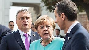 Flüchtlingsfrage außen vor: Wohlfühlgipfel in Bratislava soll Startschuss für neue EU sein