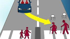 Moral-Dilemma bei autonomen Fahrzeugen: Programmierer entscheiden über Leben und Tod