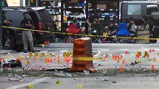 Mindestens 29 Verletzte in New York: Bombenexplosion erschüttert Manhattan