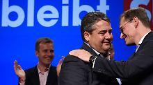 Genossen jubeln verhalten: Der SPD-Sieg ist kein Mutmacher