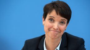 """Petry will raus aus der Opposition: """"Was die CDU einmal war, übernimmt jetzt die AfD"""""""