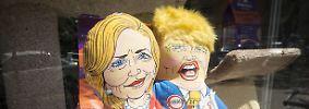 """Egal wer am Ende in das Weiße Haus einzieht, einen Oscar für """"Facettenreichtum im Wahlkampf"""" hätten sich Hillary Clinton und Donald Trump verdient."""