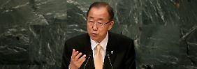 """UN-Generalsekretär spricht Klartext: Ban nennt Angriff auf Hilfskonvoi """"widerlich"""""""