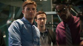 Snowden (M.) mit Kollegen bei der NSA