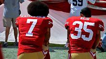 Neue Verhandlung mit Spielern: Regel zum NFL-Hymnenstreit ausgesetzt