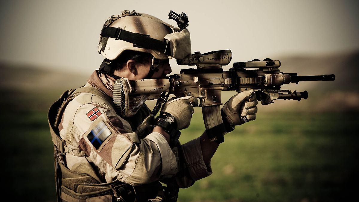 Wolldecke Norwegische Armee : Hk wird standardwaffe frankreichs armee kauft deutsche gewehre n tv