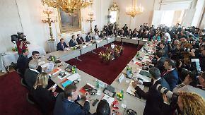 Konferenz mit den Balkan-Staaten: EU will Außengrenzen besser schützen