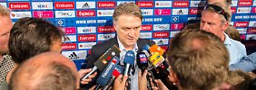 Bruchhagen soll bereitstehen: Medien: HSV-Boss Beiersdorfer muss gehen