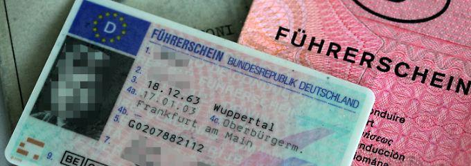 Bei einem Fahrverbot muss der Führerschein danach nicht neu beantragt werden.