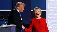 Wie ein Frosch im Kochtopf: Stars spotten über Trump nach TV-Duell