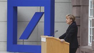 Sind Staatshilfen nötig?: Desolate Lage der Deutschen Bank alarmiert die Politik