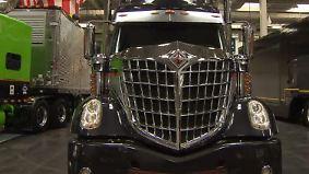 US-Giganten auf der IAA: Luxus-LKW lassen Truckerherzen höher schlagen