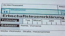 Andere Regeln für Firmenerben: Bundestag stimmt für neue Erbschaftssteuer