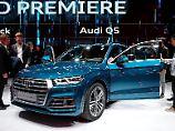 Der kommt Ihnen bekannt vor? Kann schon sein, es ist aber der neue Audi Q5.