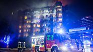 Tote und Verletzte: Bochumer Krankenhaus steht in Flammen