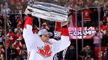 Hochspannung im Eishockey-Finale: Kanada schnappt sich den World Cup