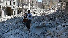 Lawrow gibt USA die Schuld: Moskau verteidigt Angriffe auf Aleppo