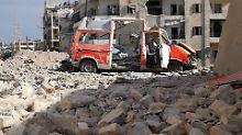 Schwerste Luftangriffe seit 2011: Fassbomben zerstören Aleppos größte Klinik