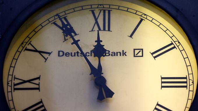 Die deutsche Bank steckt in einer tiefen Krise.